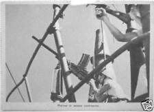 ✅1940 cartolina militare WWII Guerra Marinai in azione contraerea Propaganda PNF