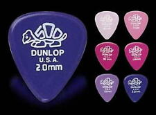 DUNLOP DELRIN 500 GUITAR PICKS ~STANDARD PLECTRA - (6) ASSORTMENT