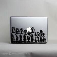 Easter Island Moai macbook laptop skin vinyl decal,Ahu Tongariki,stone statue,
