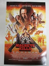 "Machete Kills Robert Rodriguez Danny Trejo Mini Promotional Poster 17"" x 11"""