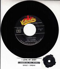 "THE TOKENS & NEIL SEDAKA  I Love My Baby & While I Dream 7"" 45 record NEW RARE!"