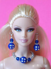 "Model Muse Barbie Doll Jewelry Set fits most 11"" - 12"" dolls Fashion Royalty d4e"