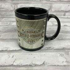 Harley Davidson Coffee Mug Raised Logo Inside Bottom