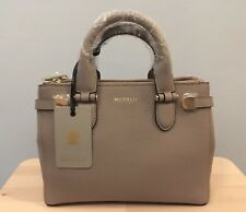 Modalu Emerson Mini Grab Bag In Mink Leather Brand New With Tags RRP £155