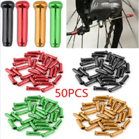 50PCS/Pack Bike Bicycle Brake Shifter Derailleur Inner Cable Wire End Cap Crimps