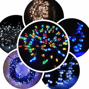 Amazing Outdoor Fairy Light 100 -1000LED / 10-100Metres 5 Colours Christmas Xmas