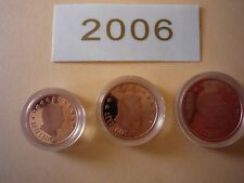 1 cent 2 cents 5 cents euros LUXEMBOURG BE 2006