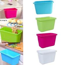 Home Kitchen Cabinet Door Hanging Trash Garbage Bin Can Rubbish Container