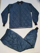 VTG SafTbak Hunting Water Repellent Insulated Puffer Pants & Jacket Sz M USA