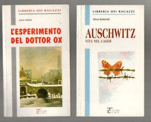 AUSCHWITZ - L'ESPERIMENTO DEL DOTTOR OX libreria dei ragazzi lotto 2 libri