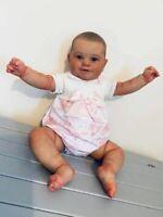 20 inch Handmade Reborn Baby Dolls Girls Soft Realistic Newborn Dolls Silicone