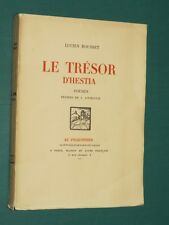Le Trésor d'Hestia Lucien ROUSSET dessins de  JOURNOUD E. O. n° dédicace auteur