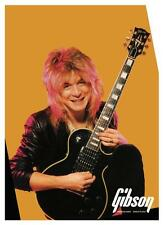 Randy Rhoads *Large Poster* Gibson Les Paul Guitar Promo ad Ozzy Osbourne