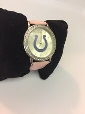 COLTS - GAME TIME-Ladies Quartz Watch- Never Worn-New Battery&Guaranteed