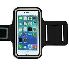 "Universal Adjustable Armband Case Holder For Mobiles UpTo 5.7"" Black (XL)"