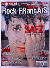 ROCK SOUND  Hors Série n°4; Spécial France; Saeez, Mass Hystéria, Virago, Tryo..