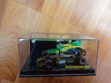 MINICHAMPS 1/43 AYRTON SENNA LOTUS 98T RENAULT TURBO 1986 JPS DIECAST F1 CAR