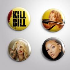 4 Kill Bill - Pinbacks Badge Button 25mm 1''.