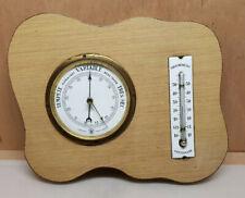 Ancien Thermometre émaillé et Barometre MODERNA RH