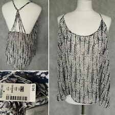 BRAND NEW Aeropostale Womens Top Blouse Vest Size XL Cropped Sheer