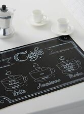 6 FRENCH Cafe PARIS Style Theme Table PLACE MATS Kitchen Decor COFFEE ESPRESSO