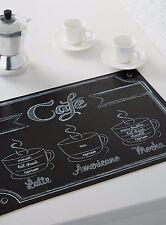 1 FRENCH Cafe PARIS Style Theme Table PLACE MAT Kitchen Decor COFFEE ESPRESSO