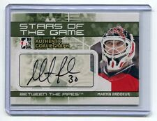 2009-10 Between The Pipes Autographs #AMBR Martin Brodeur SP