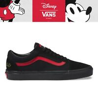 New Vans X Disney Old Skool Mickey Mouse Club/Black Sneakers Limited Edition