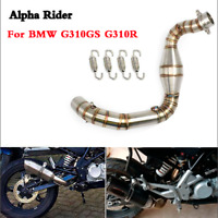 Motorcycle Exhaust contact middle pipe For BMW G310R G310GS G 310R G 310GS 17 18