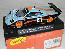 1/32 - Slot It SICA10d Scalextric Mc Laren F1 GTR Gulf 24H Le Mans '97 - NIB