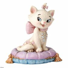 Disney Jim Shore Traditions Marie On Cushion Mini Figurine Ornament 7cm 4054288