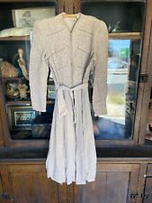 Vintage Womens 1930's 40's Dress Jacket Applique Crepe Rayon Silk Rare