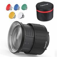 Aputure Fresnel 2X Lens Mount for Aputure 120D Mark 2 300D 120D LS C300D+ Gift