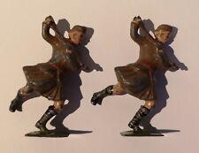 Magnifique Ancien Scottish Highland soldat plomb figures. Metal Detecting Find