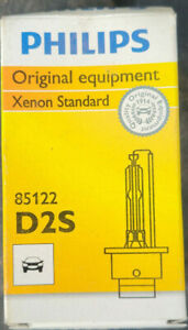 PHILIPS 85122C1 PHILIPS D2S STANDARD AUTHENTIC XENON HID HEADLIGHT BULB 1 PACK