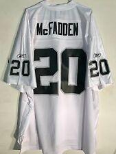 Reebok Premier NFL Jersey Oakland Raiders Darren McFadden White sz 3X