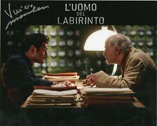 Vinicio Marchioni L'uomo del labirinto Foto Autografata Autografo Signed Cinema