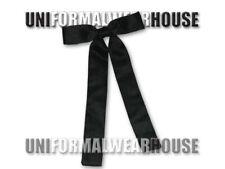 Adult Polysatin Black KENTUCKY Tie Colonel Sanders Cowboy String Tie Tux NEW