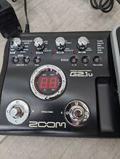 Zoom g2.1u, Gitarre Effekt Pedal, Multieffektgerät, mit Drumcomputer