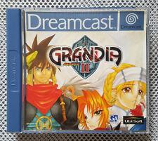 Sega Dreamcast Grandia II 2 Komplett mit Anleitung