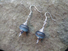 Natural Quartz Silver Plated Costume Earrings