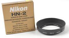 Nikon HN-2 LENS HOOD w/ Box  - JAPAN