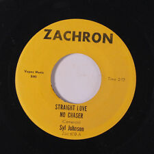 SYL JOHNSON: Straight Love No Chaser / Surrounded 45 (funky Soul) Soul