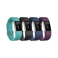Fitbit Charge 2 Heart Rate + Fitness Wristband - Multiple Colors and Sizes