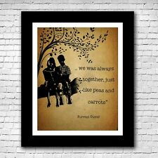 Forrest Gump and Jenny Movie Poster Quote