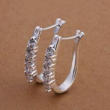 Free Shipping!!Wholesale 925 jewelry silver plated  Earring,silver plated  Fa...