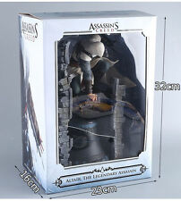"ASSASSIN'S CREED LEGENDARY ALTAIR STATUE THE ASSASSIN ON THE BELL 11"" PVC FIGURE"