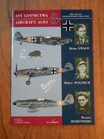 Aircraft Aces 3 Ewald, Wolfrum, Hohenberg - Marek Murawski *very good & decals*
