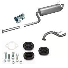Endschalldämpfer +Endrohr Auspuff + Anbausatz für Hyundai  Atos 1.0 12V
