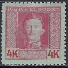 Österreich ungarische Feldpost 1917/18 Nr. 71 B gez. 11,5 * ungebraucht